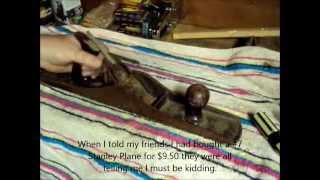 Repairing Antique Tools - Stanley #7 Plane - A Video Tutorial From Old Sneelock's Workshop