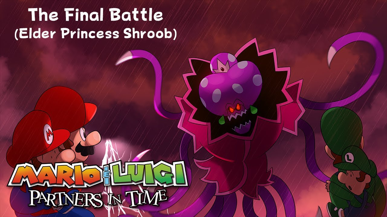 The Final Battle Elder Princess Shroob With Lyrics Mario And
