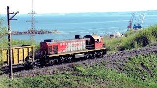 Тепловоз маневровый ТЭМ2 6986  Locomotive ТЕМ2 6986
