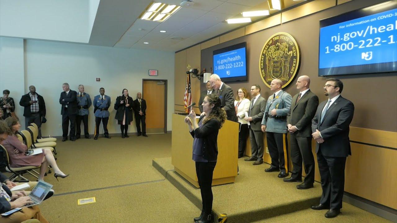 NJ officials discuss COVID-19 preparations thumbnail
