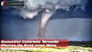 Large Beautiful White Tornado in Colorado - 5/7/2016 Wray, CO