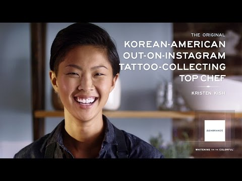 Top Chef Winner Kristen Kish is a REMBRANDT® Original ...