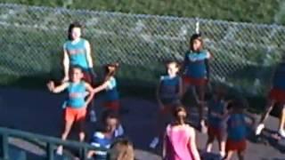 07/24/2010 LV PeeWee Dolphins Cheerleaders