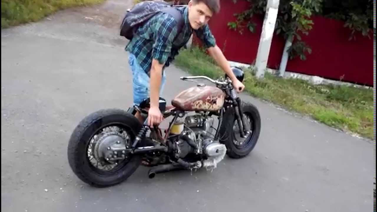 Ural Bobber Rebel Yell Youtube