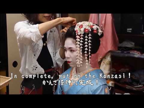 Maiko (apprentice Geisha) Experience -Let's Makeup Maiko In Kyoto!