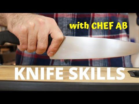 BASIC KNIFE SKILLS With Chef AB