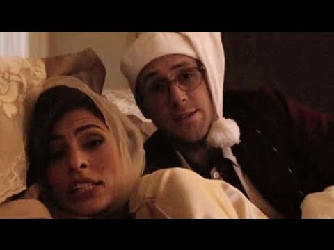 Ryan Gosling and Eva Mendes in Bed For Funny or Die