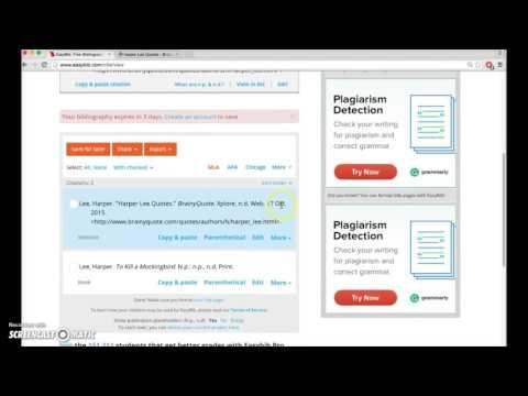 Cite This For Me  Web Citer   Duration        TPgrade      views Edizon