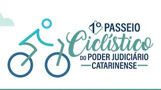 Tribunal de Justiça de Santa Catarina realiza no domingo o seu 1º Passeio Ciclístico