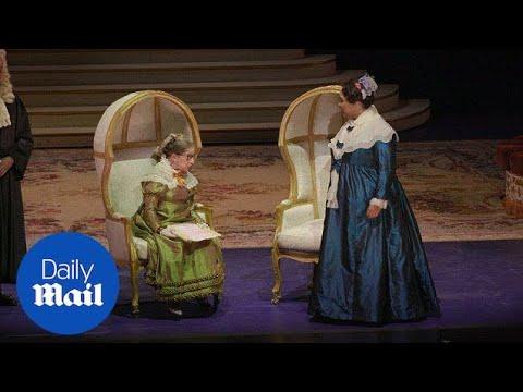 Ruth Bader Ginsburg makes cameo in Washington DC opera - Daily Mail