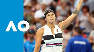 Katie Boulter v Aryna Sabalenka match highlights (2R) | Australian Open 2019