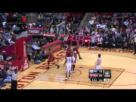 Clippers on the Run | Clippers vs Rockets  | Jan 15th, 2013