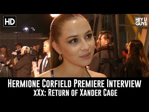 Hermione Corfield Premiere Interview - xXx: Return of Xander Cage