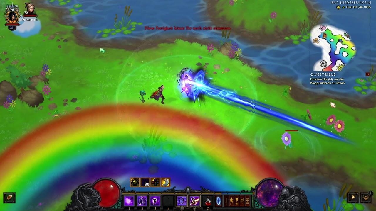 Diablo 3: Kosmische Flügel - Prinzessin Lilian (Regenbogengoblin ...