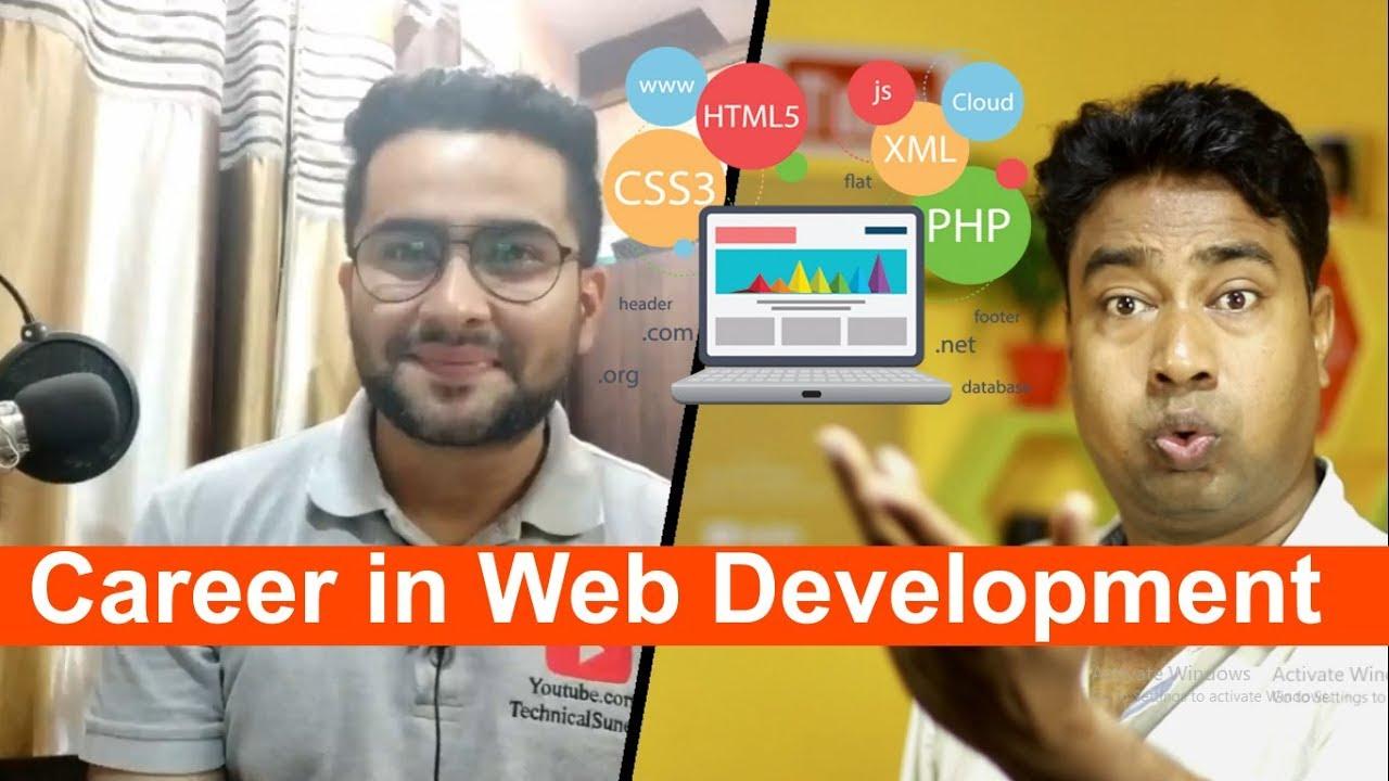Best Tech Careers 2020 Best Career Option for beginner & Professional in Web Development