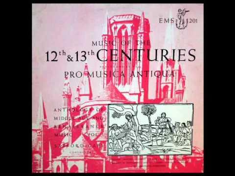 Perotin / Pro Musica Antiqua, Safford Cape, 1951: 12th And 13th Century Sacred Music