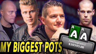 Top 5 Pots Of My Poker Career (VS Antonius, Jeans, Ziigmund)