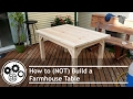 How to NOT Build a Farm House Table