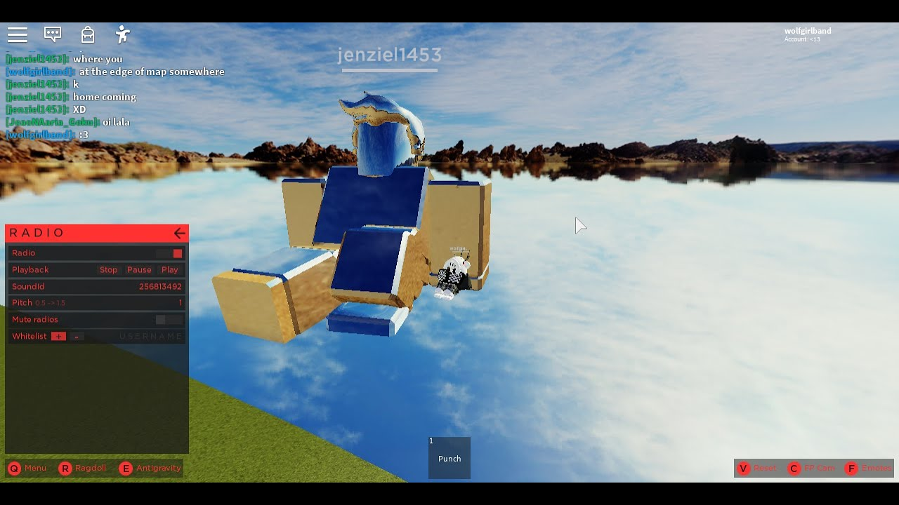 Some Roblox Ids And Eagle Ragdoll Testing Youtube