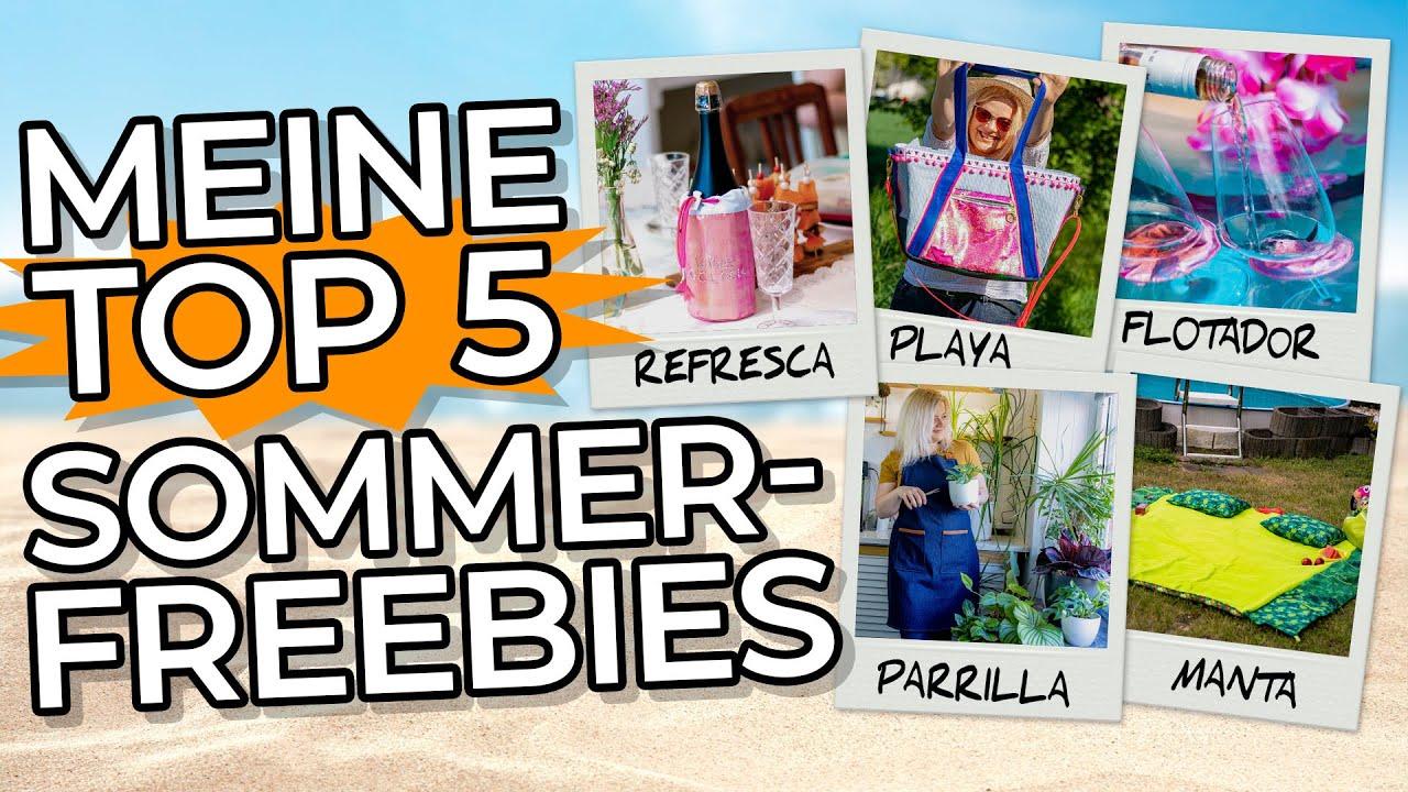 Meine Top 5 Sommer Freebies nähen
