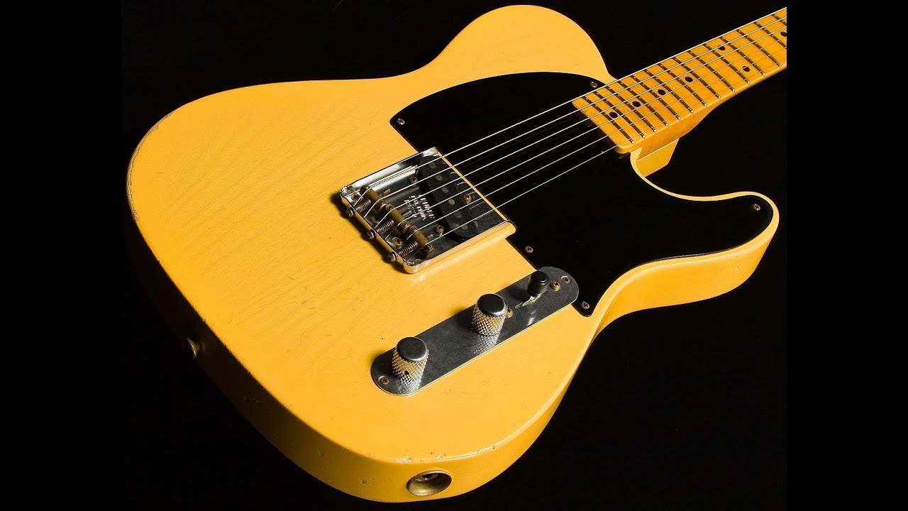 Fender Custom Shop \'50s Limited Esquire Relic • SN: R9770 - YouTube