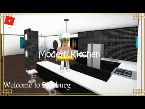 Roblox Welcome To Bloxburg Modern Kitchen