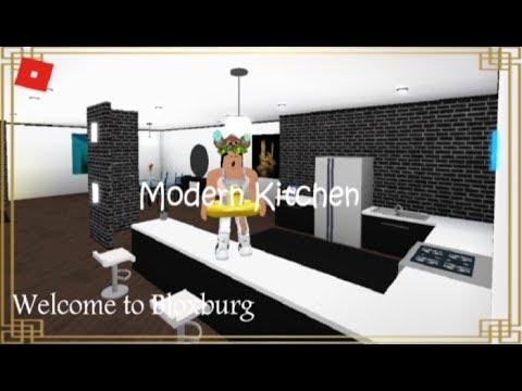 Roblox Welcome To Bloxburg Modern Kitchen