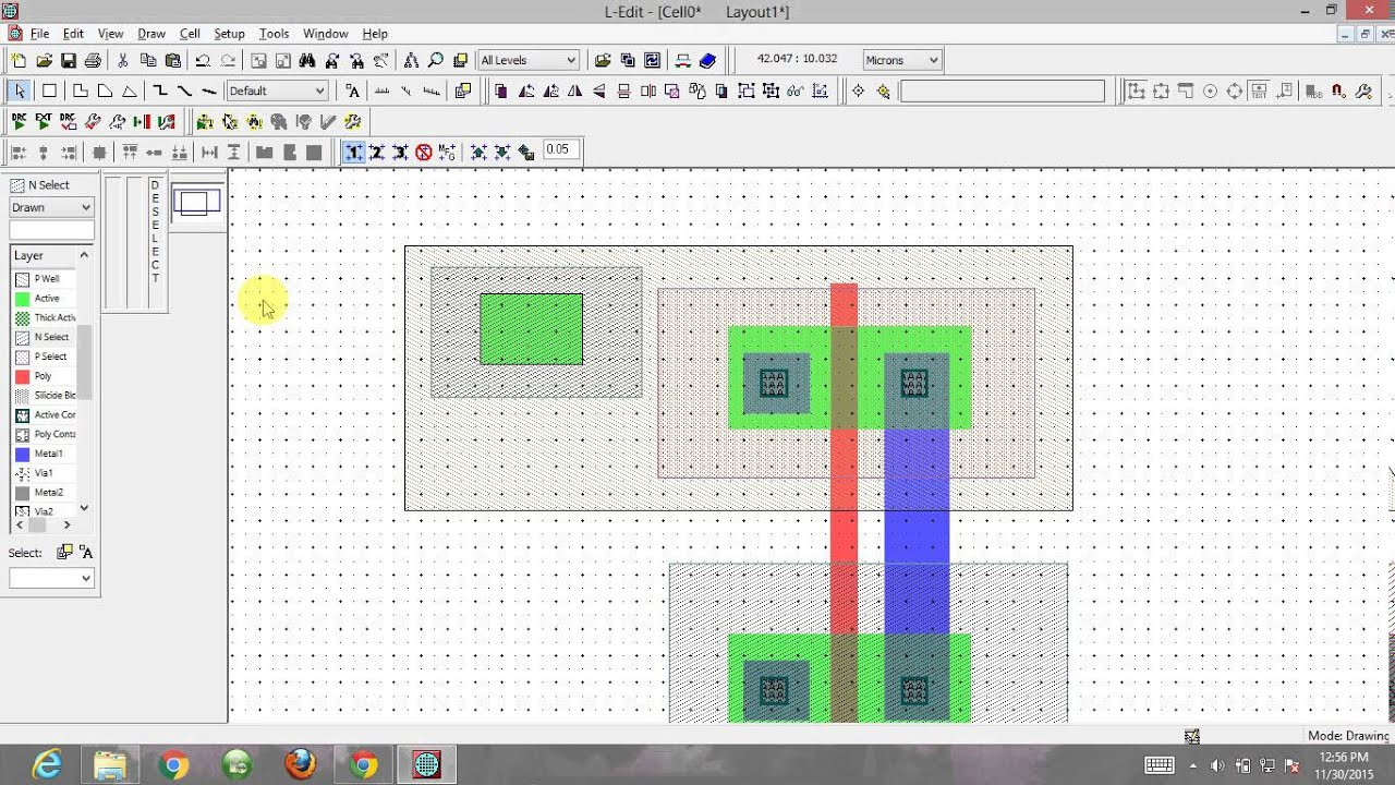Inverter Layout Basics Using L Edit By Gaurav Sati List Of Best Online Circuit Simulator Gadgetronicx