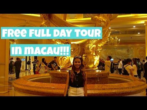 Free Full Day Tour in Macau from Hongkong | Macau Travel Vlog