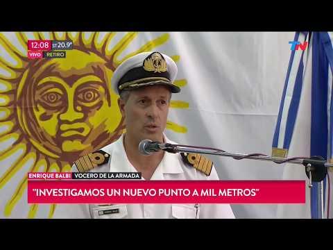 Submarino ARA San Juan: Nuevo parte de la armada