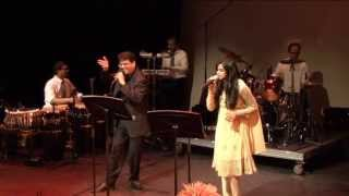 Zara Sa Jhoom Loon Mein - Vimal Chopra with Madhu Lalbahdoersing Live in Holland