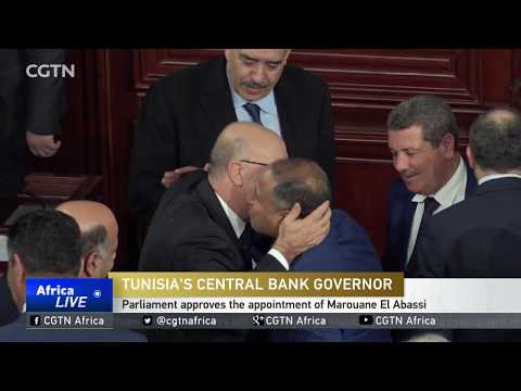 Tunisia's parliament approves the appointment of Marouane El Abassi as Central Bank governor