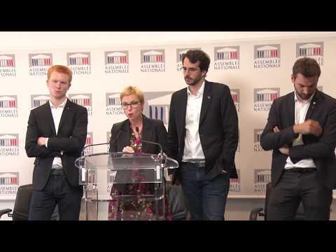 « C'EST AU PEUPLE DE DÉFINIR LA RÈGLE DÉMOCRATIQUE » - Conférence de presse du groupe