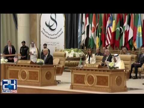 Saudi King, Trump Take Turns to Attack Iran as Terror Backer