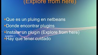 Video 05  TUTORIAL Instalar plugin en netbeans download MP3, 3GP, MP4, WEBM, AVI, FLV November 2018