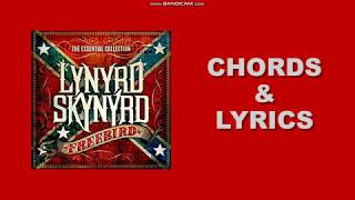 Free bird by Lynyrd Skynrd (play along chords and lyrics)