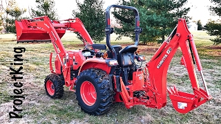 New Tractor!! Kubota L3301