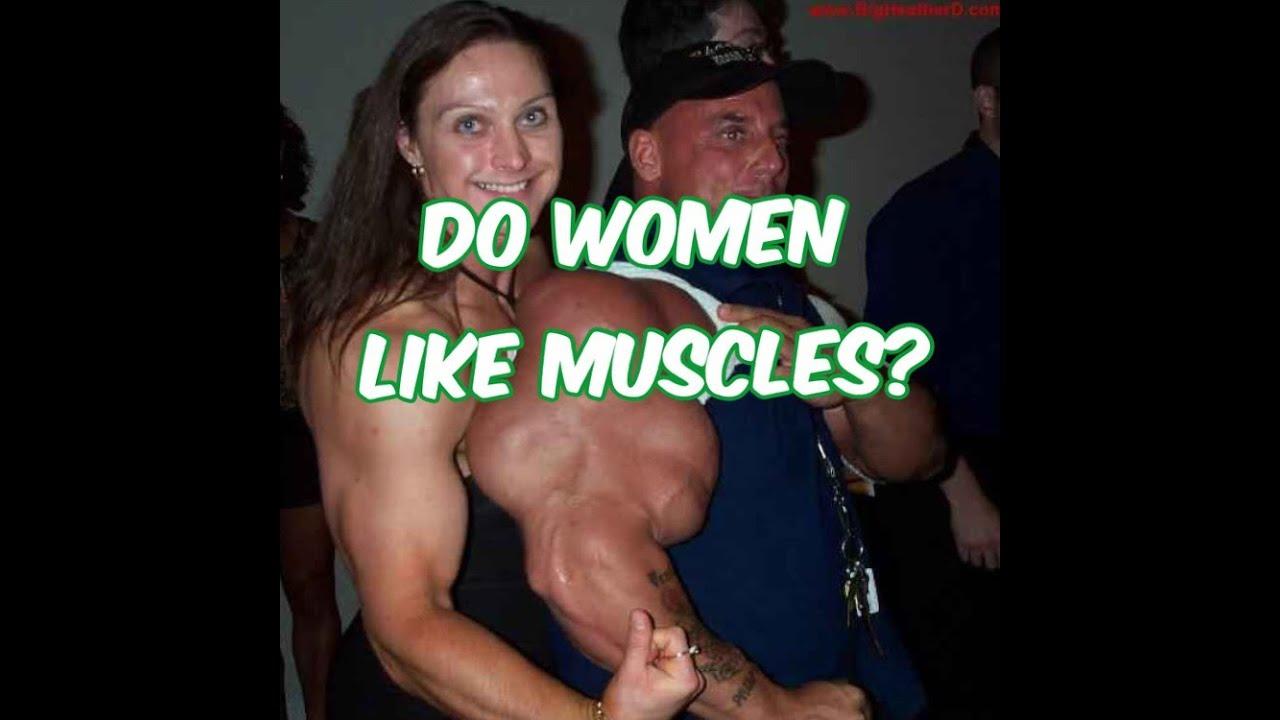 Women like muscles