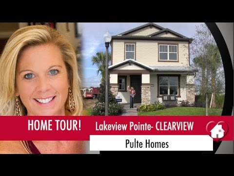New Homes Winter Garden Florida Clearview Model At Lakeview Pointe