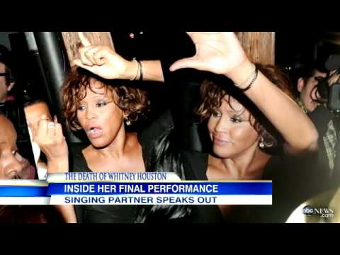 Whitney Houston's Last Performance: An Impromptu Duet with Kelly Price