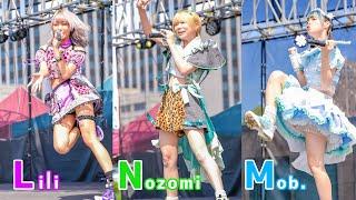 にっぽんワチャチャ 新衣装 屋外プール イベントステージ Japanese girls idol group [4K]