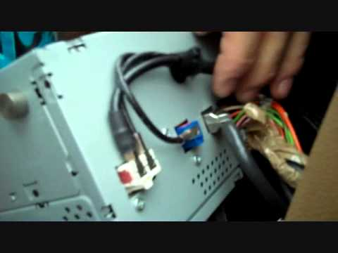 How to MercedesBenz C Class Bose Stereo Removal 2008