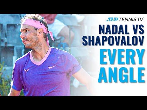 Rafael Nadal vs Denis Shapovalov: All The Angles | Rome 2021 Highlights