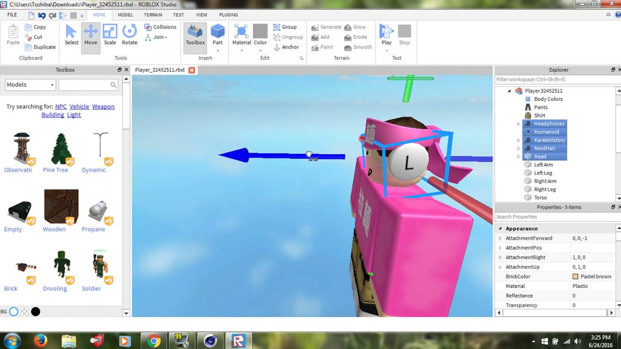 How to Render A Roblox Character In Cinema 4D [Roblox Tutorial]
