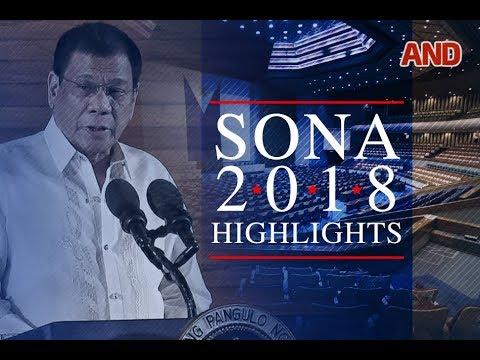 SONA 2018 Highlights