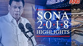 SONA 2018 SUMMARY (For Reaction Papers) - YouTube