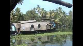 House boats of Kerala,India