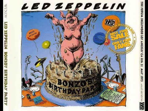Led Zeppelin Live @  The Forum, Los Angeles, CA – May 31st, 1973
