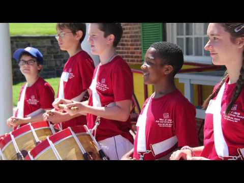 Fort McHenry NMHS War of 1812 Fife & Drum Camp, 2017