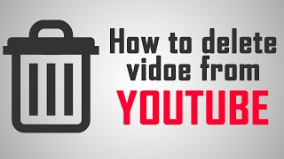 how to delete video from youtube in Urdu / hindi